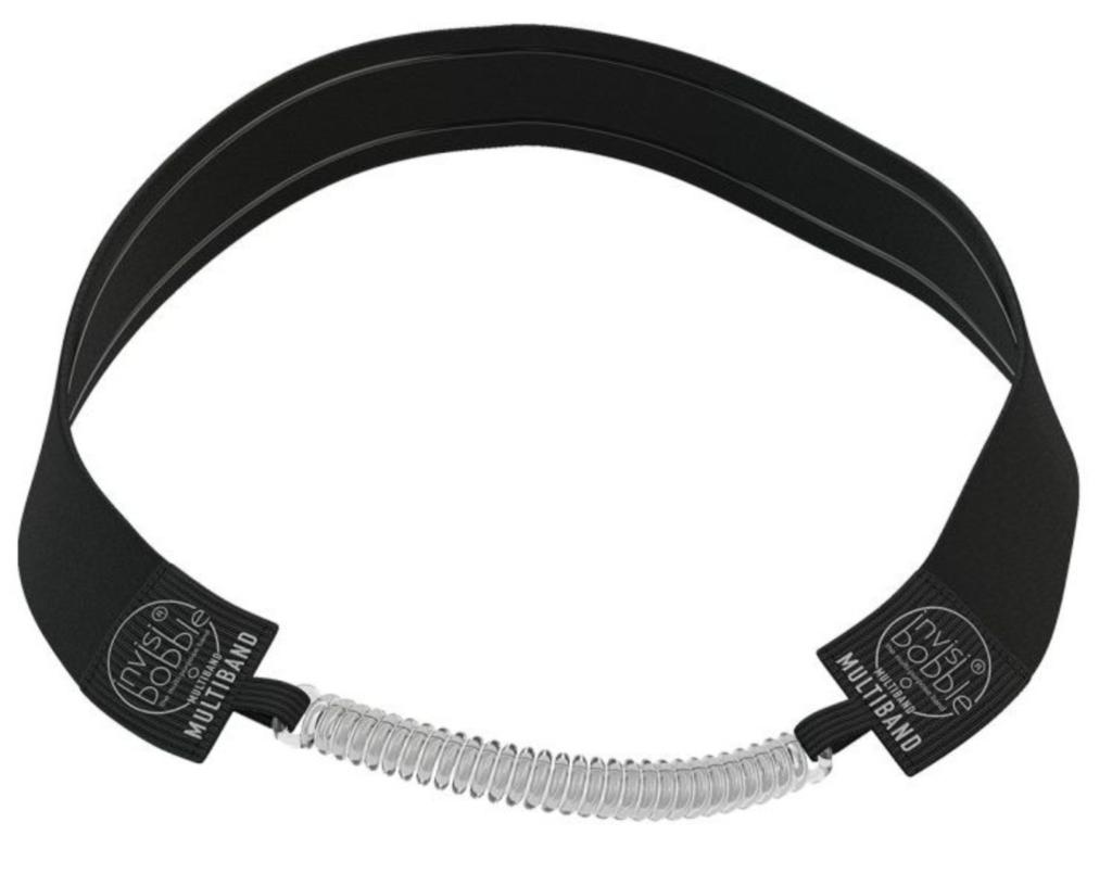 černá multifunkční čelenka