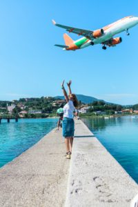 cestování letadle co sbalit